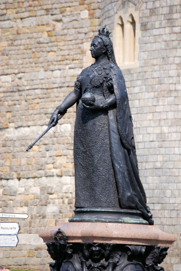 Victoria's Statue in Windsor