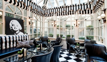 Conservatory at The Milestone Hotel near Kensington Palace