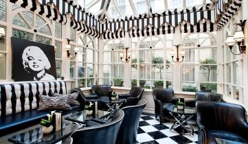 Conservatory at The Milestone Hotel near Kensington Palace