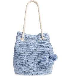 Mama Straw Bucket Bag