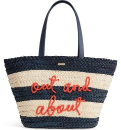 Shore Thing Straw Tote by Kate Spade NY