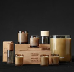 French Oak Candles and Scent by Restoration Hardware