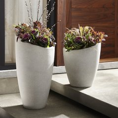 Planters by Crate and Barrel