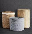 Cablelock Wool Baskets by Rejuvenation