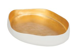 Ethan Allen Giulia Gold Bowl