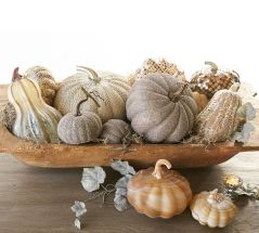 Gold Mosaic Gourd By Pottery Barn
