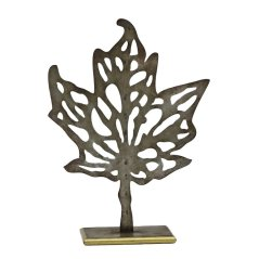 Maple Leaf Silhouette Sculpture by Birch Lane