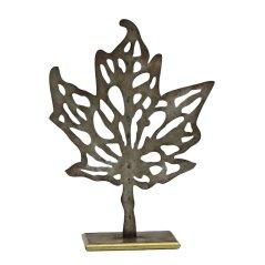 Maple Leaf Silhouette Sculpture by Birch Lane