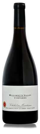Chehalem Mountains AVA Series Pinot Noir. Image Courtesy: Willamette valley Vineyards