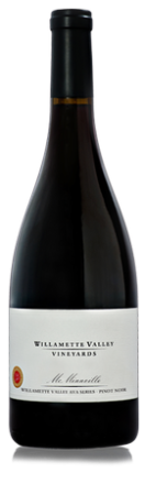 McMinnville AVA Series Pinot Noir. Image Courtesy: Willamette Valley Vineyards.
