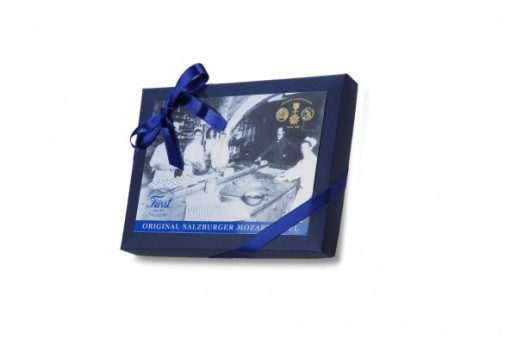 Original Salzburger Mozartkugel gift box by Cafe Konditorei Furst