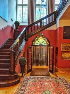 Entrance at Villa Trapp. Image Courtesy: Neha Wasnik