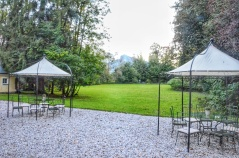 Lawn at Villa Trapp. Image Courtesy: Vindscape