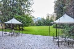 Lawn at Villa Trapp. Image Courtesy: Vindscape