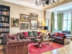 Living Room at Villa Trapp. Image Courtesy: Neha Wasnik