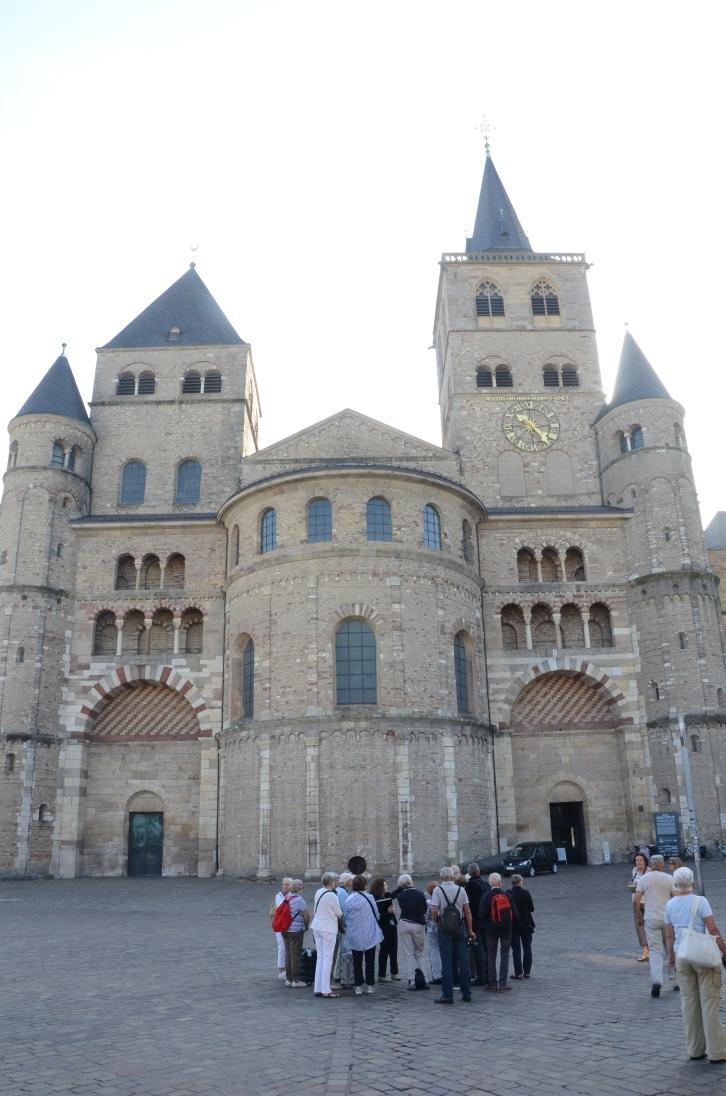 Saint Peter's Cathedral, Trier,. Image Courtesy: Vindscape