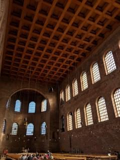 Inside the Konstantin Basilika. Image Courtesy: Vindscape