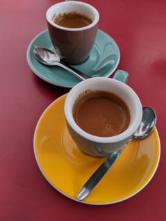 Espresso at Cafe du Marche
