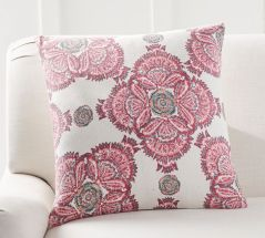 Jade Block Print Inspired Pillow Cover. Image Courtesy - Pottery Barn